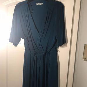 Eliza J Wrap Dress | Size 16
